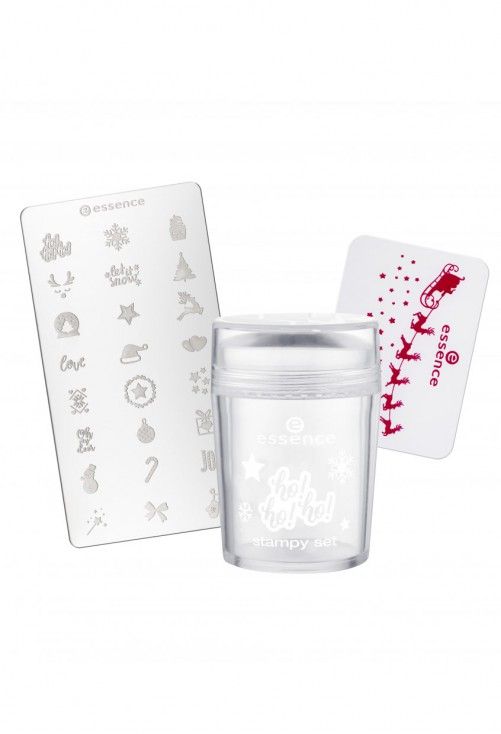 Set stampila unghii Essence Ho Ho Ho Stampy Set