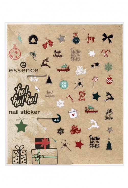 Stickere pentru unghii Essence Ho Ho Ho NailSticker