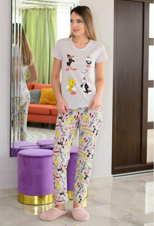 Pijama Special Safety Grey