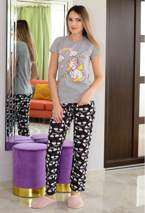 Pijama Rainbow Grey