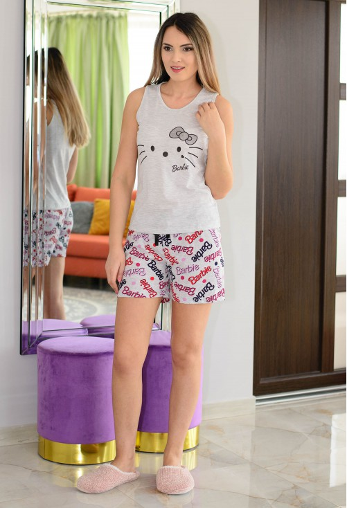 Pijama Casual Fit Grey