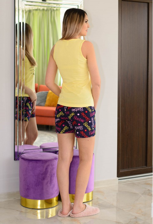 Pijama Casual Fit Yellow