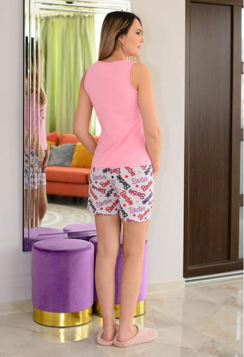 Pijama Casual Fit Pink