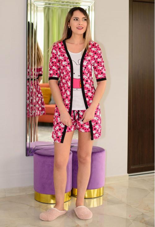 Pijama Funny Bunny Ciclam