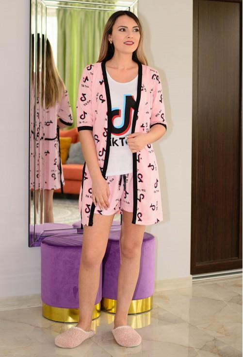 Pijama Tik Tok Pink