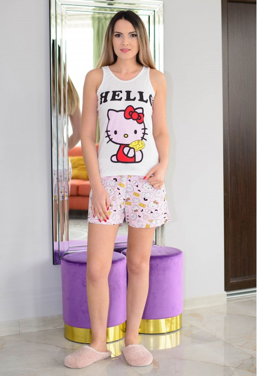 Pijama Hello Darling White