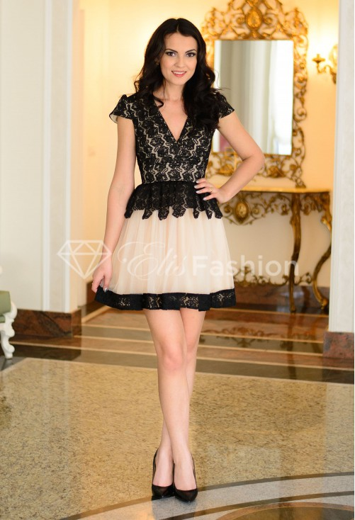 Rochie Ella Collection Tempting The Best Black