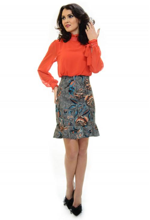 Rochie Flame Elegance Orange