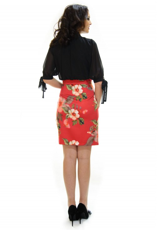 Rochie Fair Shot Red