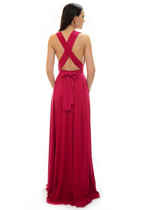 Rochie Versatila Beautiful Raspberry
