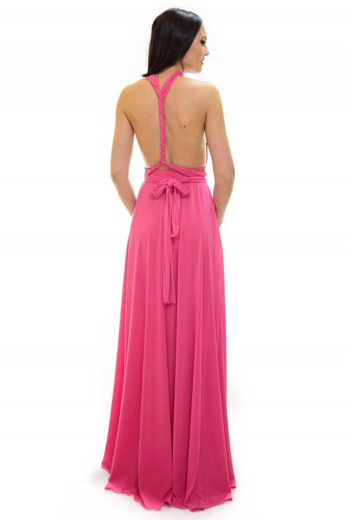 Rochie Versatila Pink Beauty