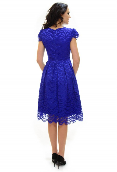 Rochie Ella Collection On The Mind Blue
