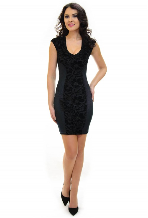Rochie Ella Collection Flirty Night Black