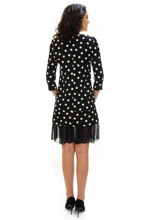 Rochie Bubble Strap Black