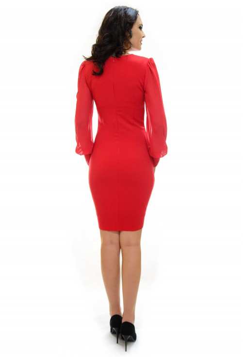 Rochie Ella Collection Vicious Elegance Red