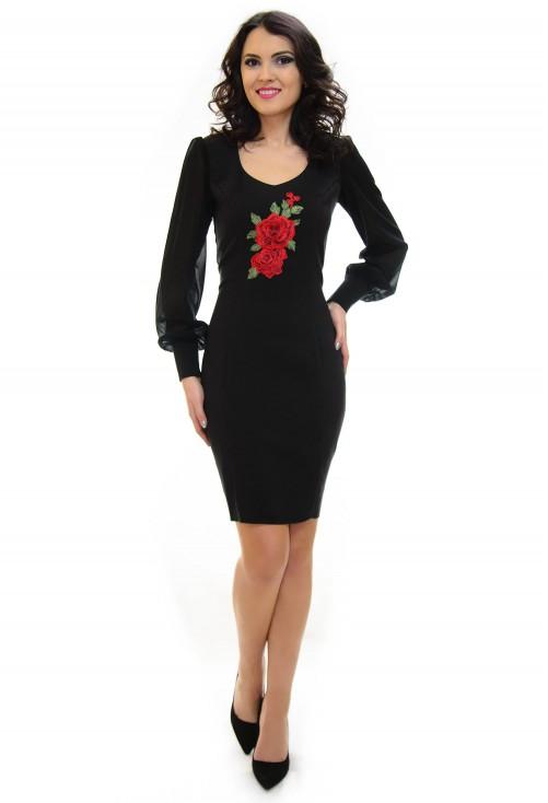 Rochie Ella Collection Vicious Elegance Black