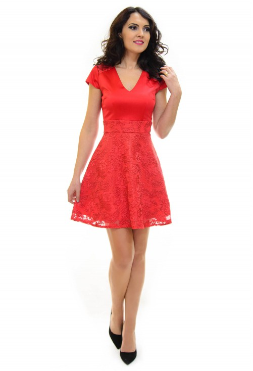 Rochie Ella Collection Formation Red
