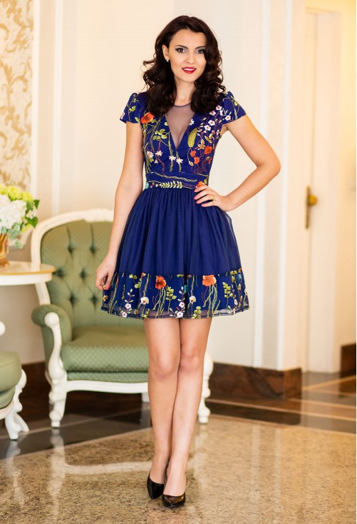 Rochie Ella Collection Innedit Blue