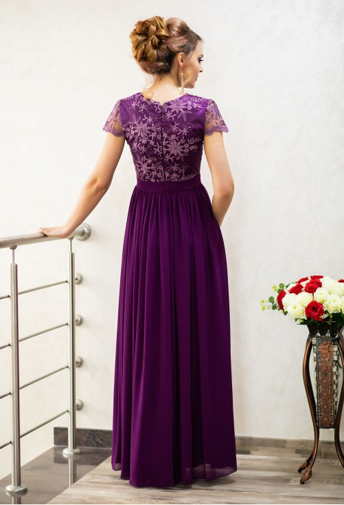 Rochie Ella Collection Daring Truth Purple