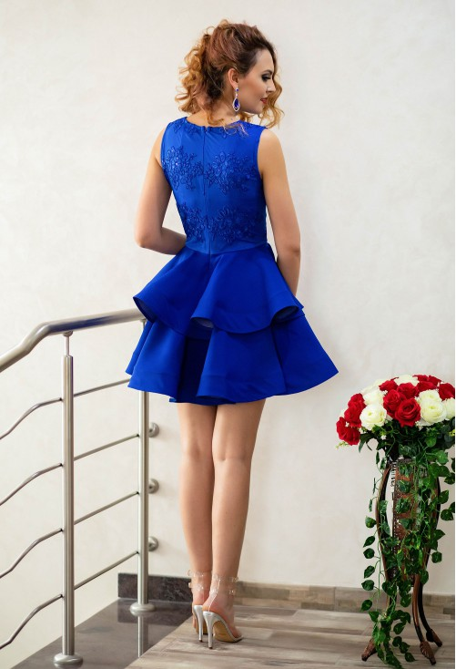 Rochie One Defense Royal Blue