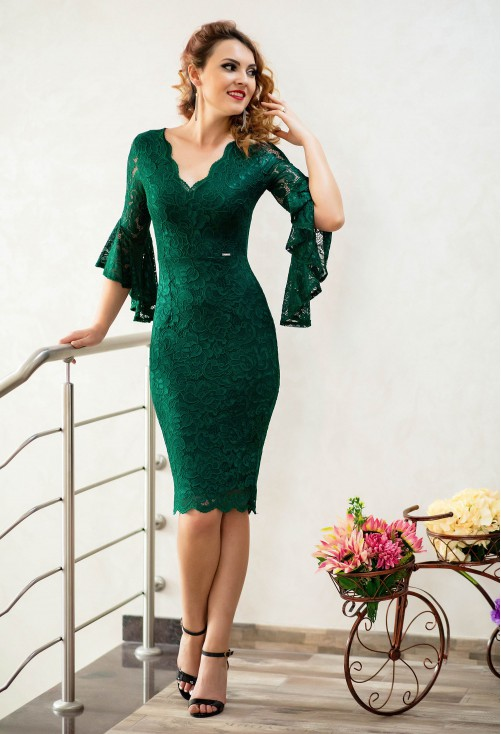Rochie Royal Appearance Green