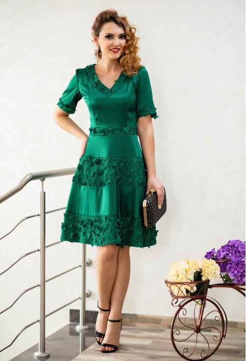 Rochie Ella Collection Female Attraction Green