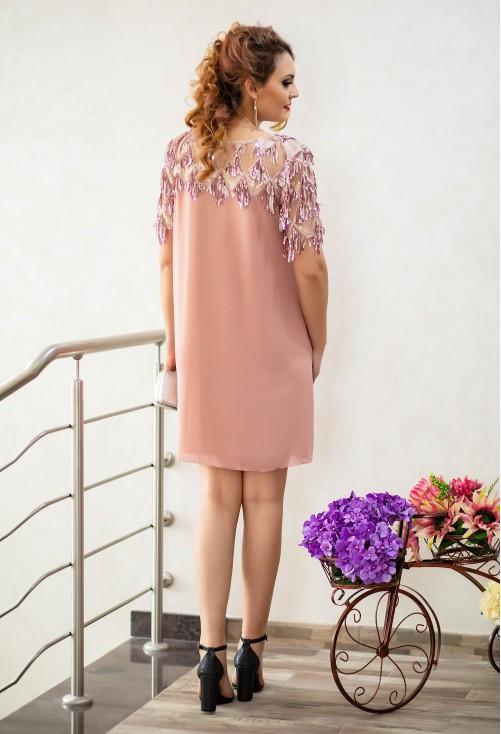 Rochie Ella Collection Belle Pink