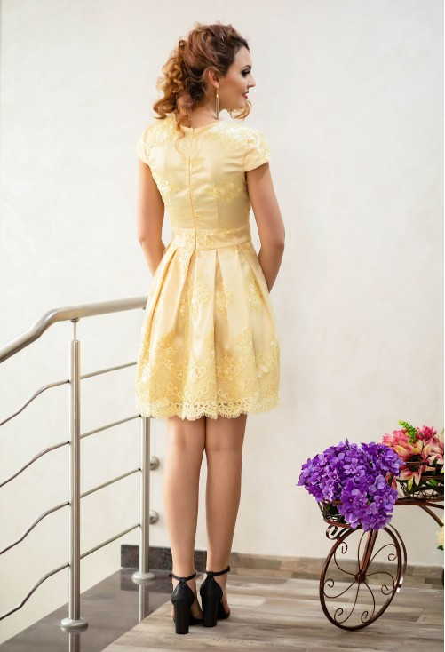 Rochie Ella Collection Dream Taste Yellow