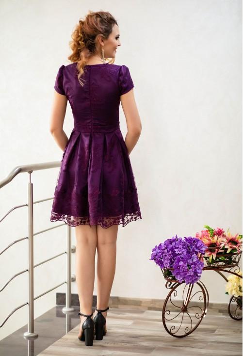 Rochie Ella Collection On Type Purple