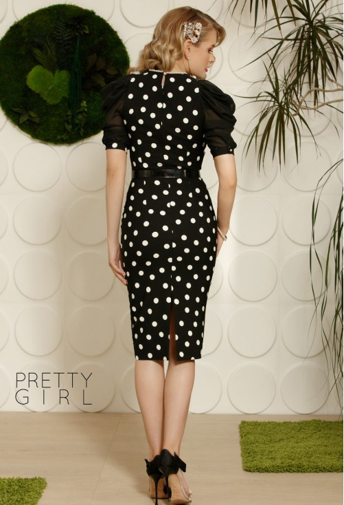 Rochie Pretty Girl Bubblelicious Black