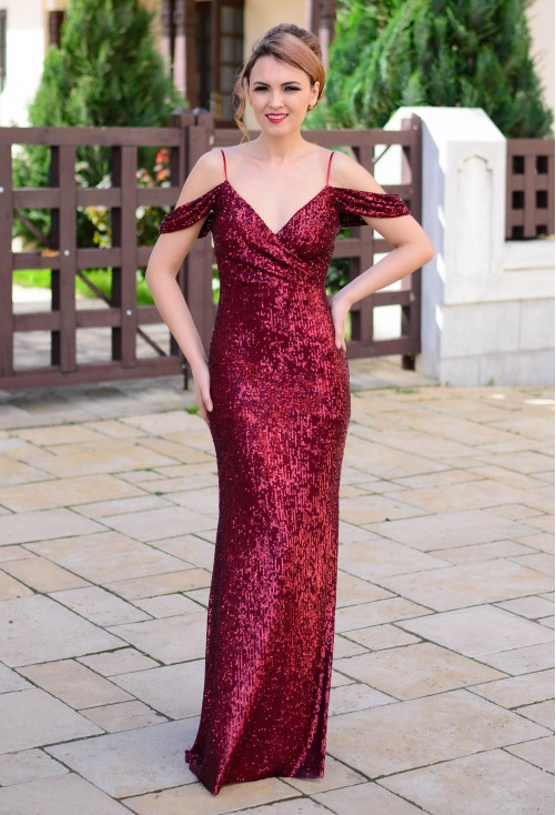 Rochie Queen Intimacy Burgundy