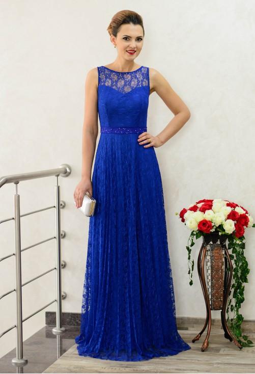 Rochie Dynamic Lace Royal Blue