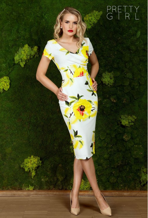 Rochie Pretty Girl Yellow Limonade