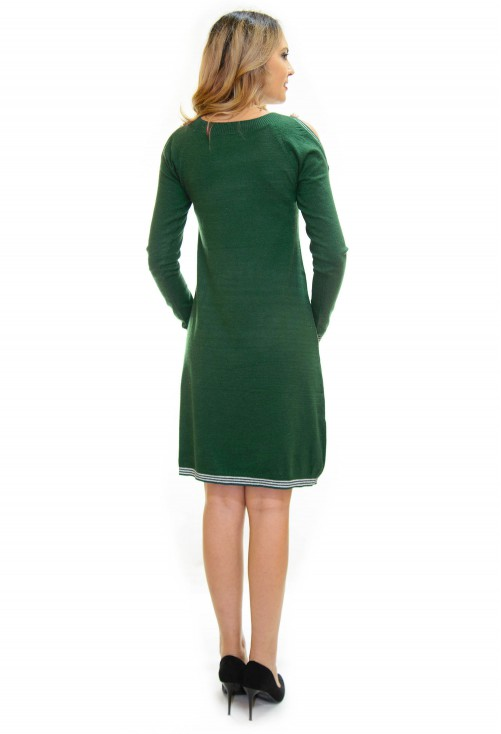 Rochie Tricotata Best Part Green