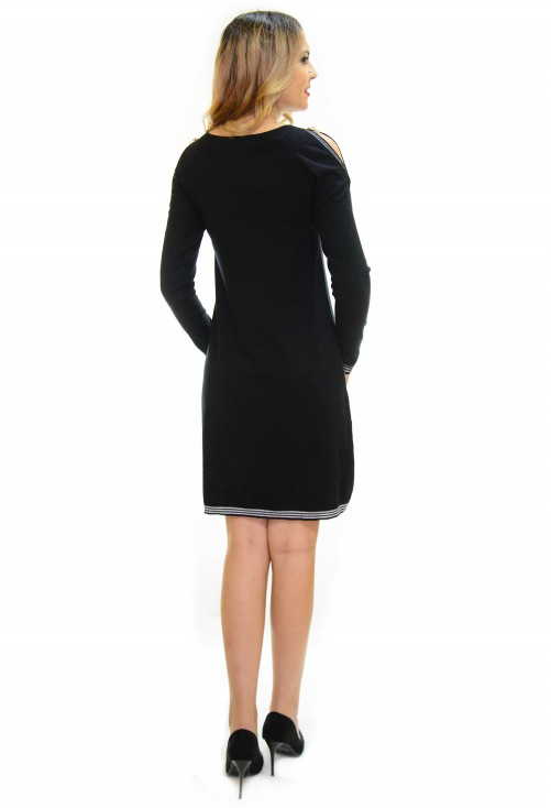 Rochie Tricotata Best Part Black