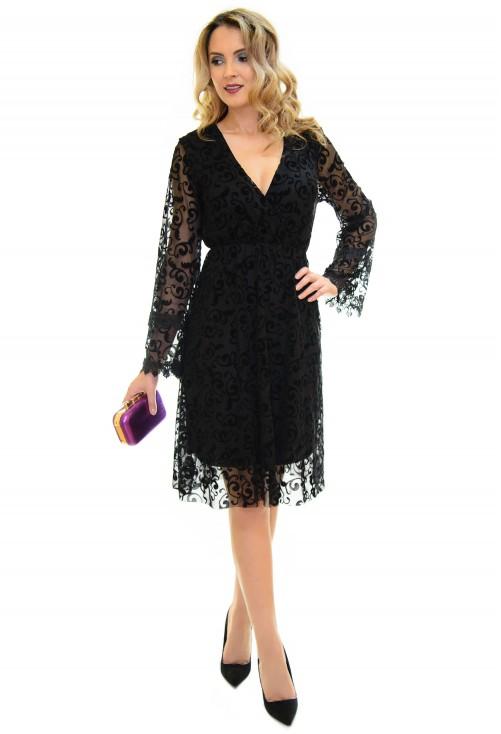 Rochie Delicacy Lace Black