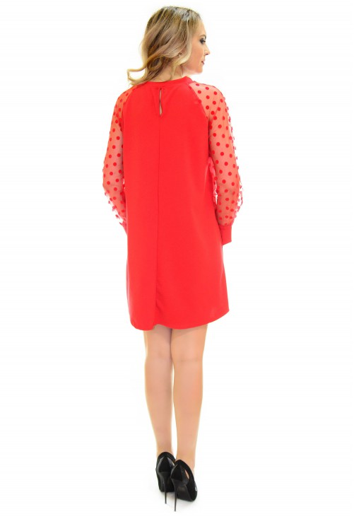 Rochie Fine Elegance Red
