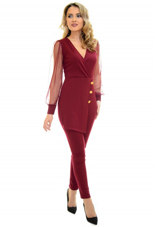 Salopeta Space Fit Burgundy