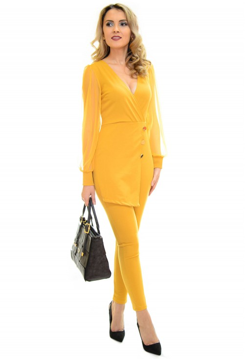 Salopeta Space Fit Yellow
