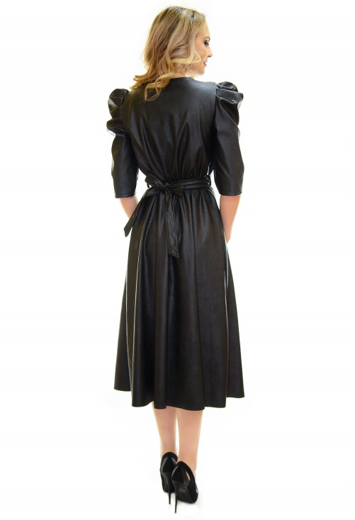 Rochie Fantasy Leather Black