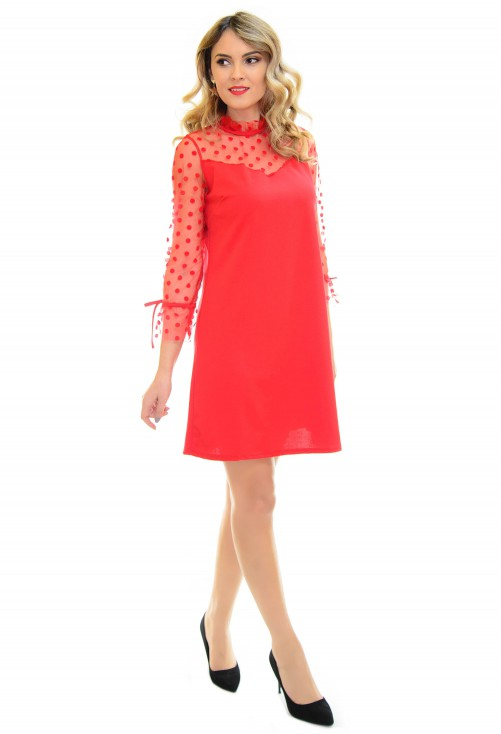 Rochie Holiday Complex Red