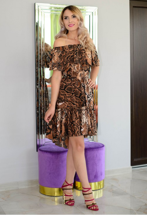 Rochie Summer Rush Brown