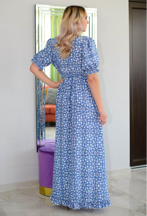 Rochie Long Dimmension Blue