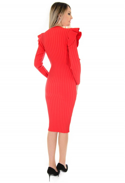 Rochie New Smart Option Red