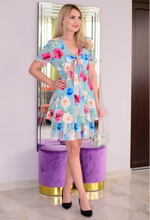 Rochie Flawless Design Blue