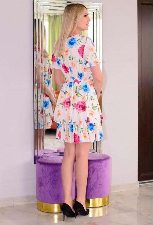 Rochie Flawless Design White