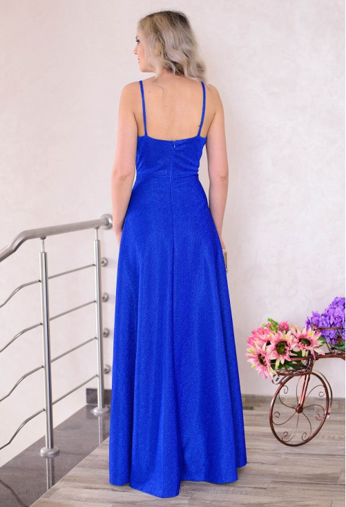 Rochie Shiny Star Blue