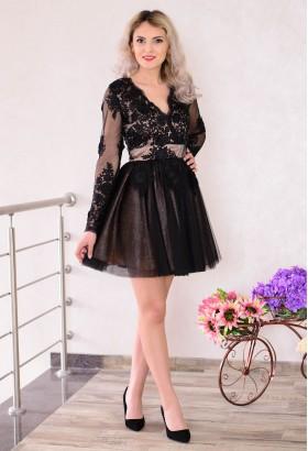 Rochie Ella Collection Perfect Design Black