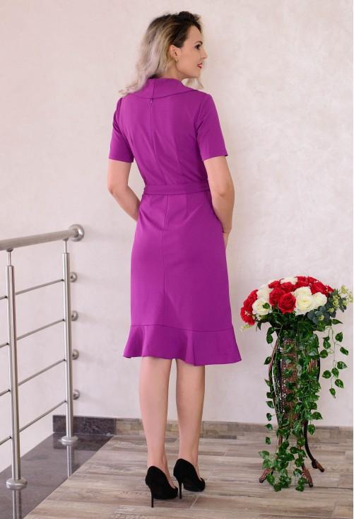 Rochie Side Lines Purple