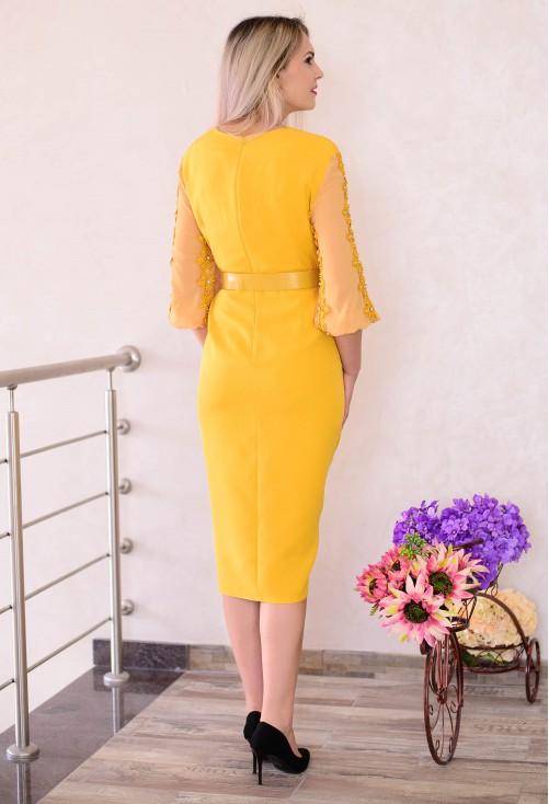 Rochie Dejavu Best View Mustard